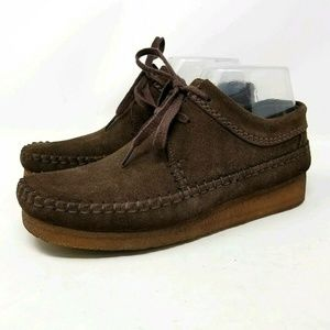 Clarks Wallabee Brown Suede size 7 boot Moccasins